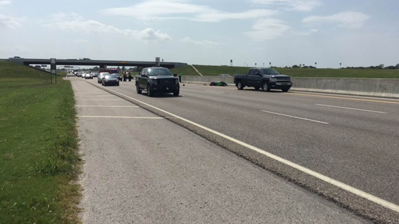 Motorcycle And Car Involved In Fatal Crash On Tulsa Highway