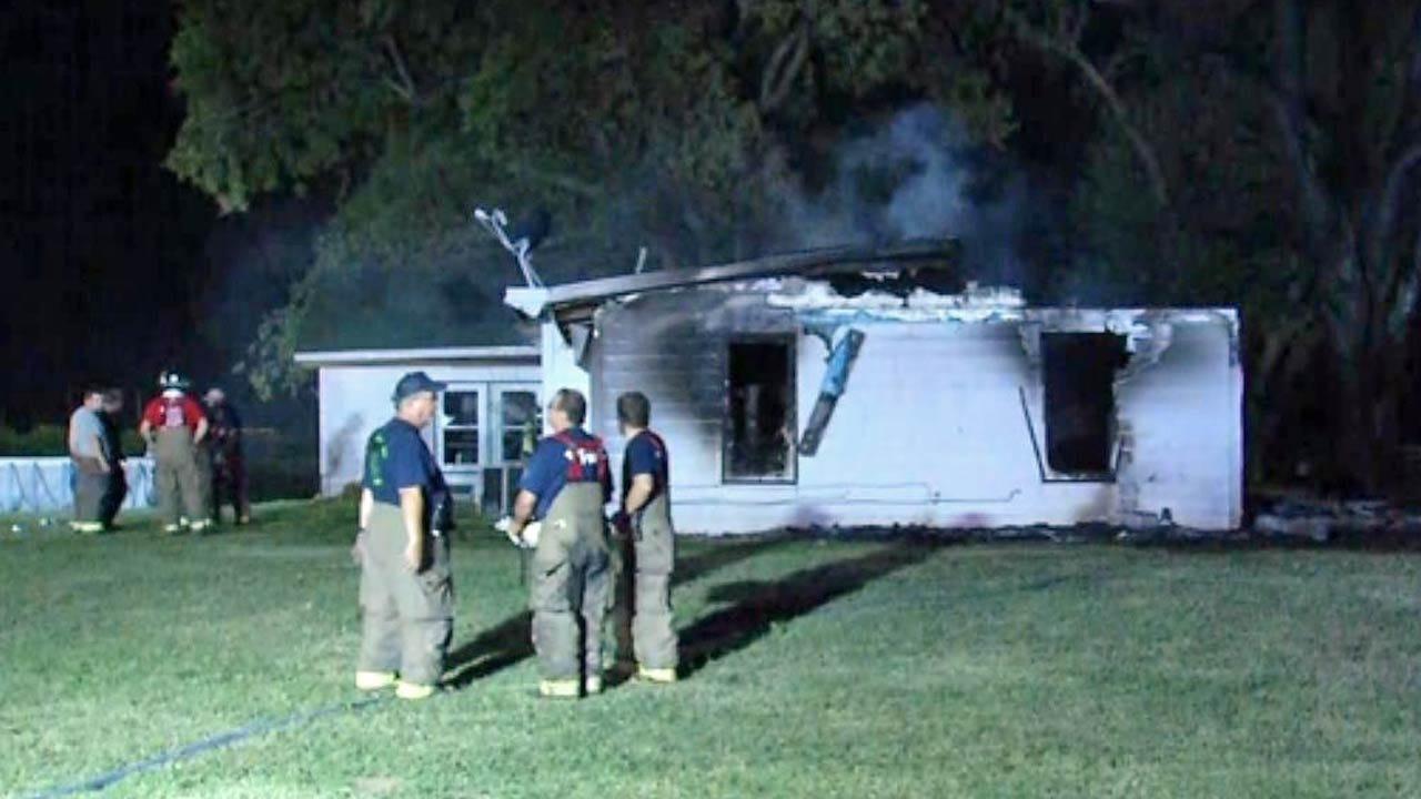 Fire Destroys Rural Wagoner County Home