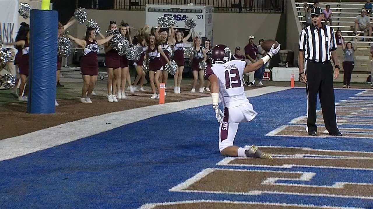 Game Of The Week: Jenks Hangs On To Beat Union, 35-28