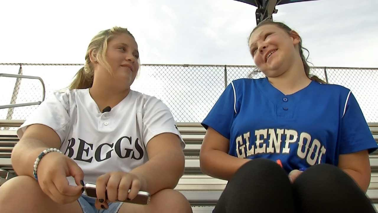 Line Drive Injury Leads To Friendship For Green Country Softball Players