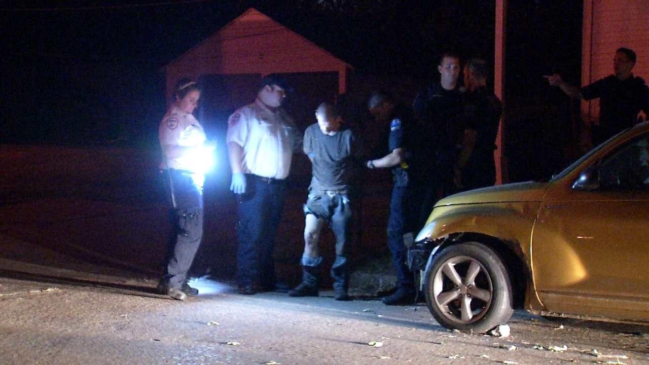 Police K9 Officers Help Track, Arrest Tulsa Auto Burglary Suspect