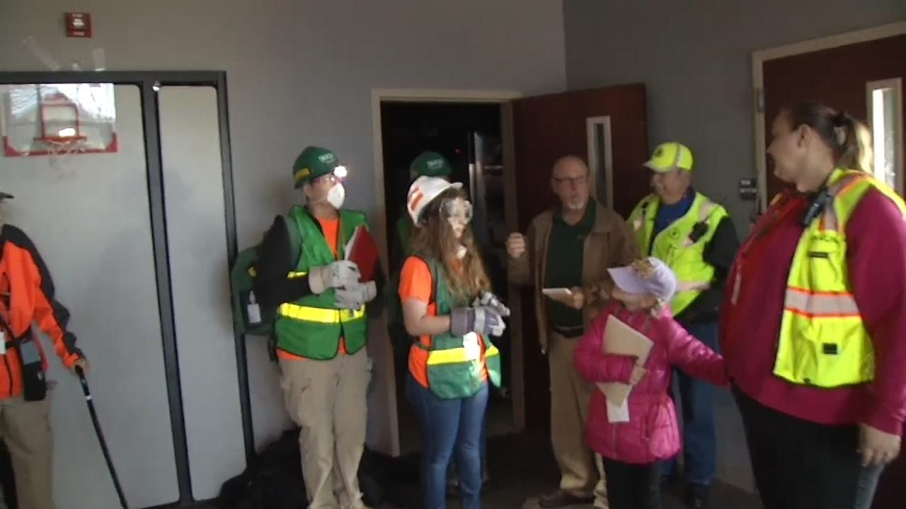 Community Emergency Response Teams Hold Jenks Training Exercise