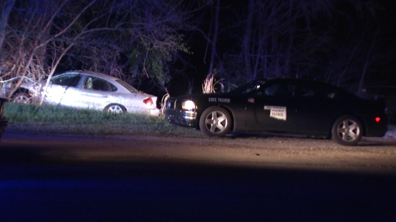 Driver Arrested For DUI At Tulsa County Crash