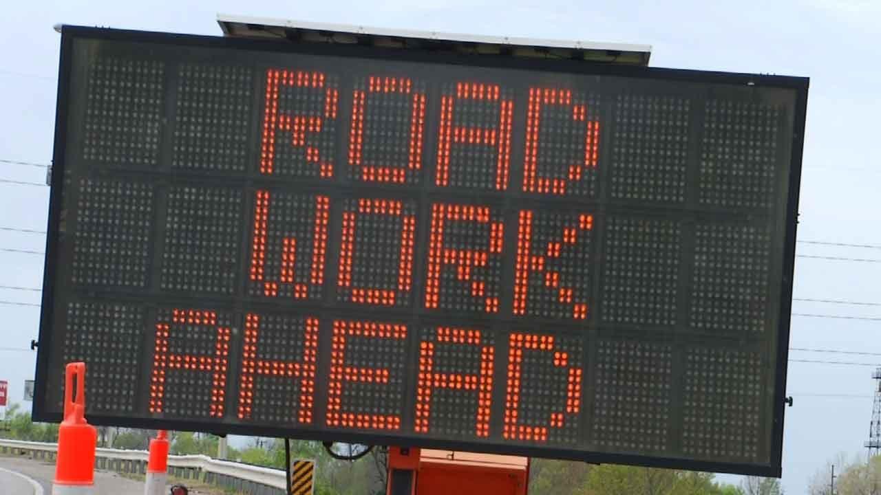 Resurfacing Project Underway On Northbound 75 In Tulsa
