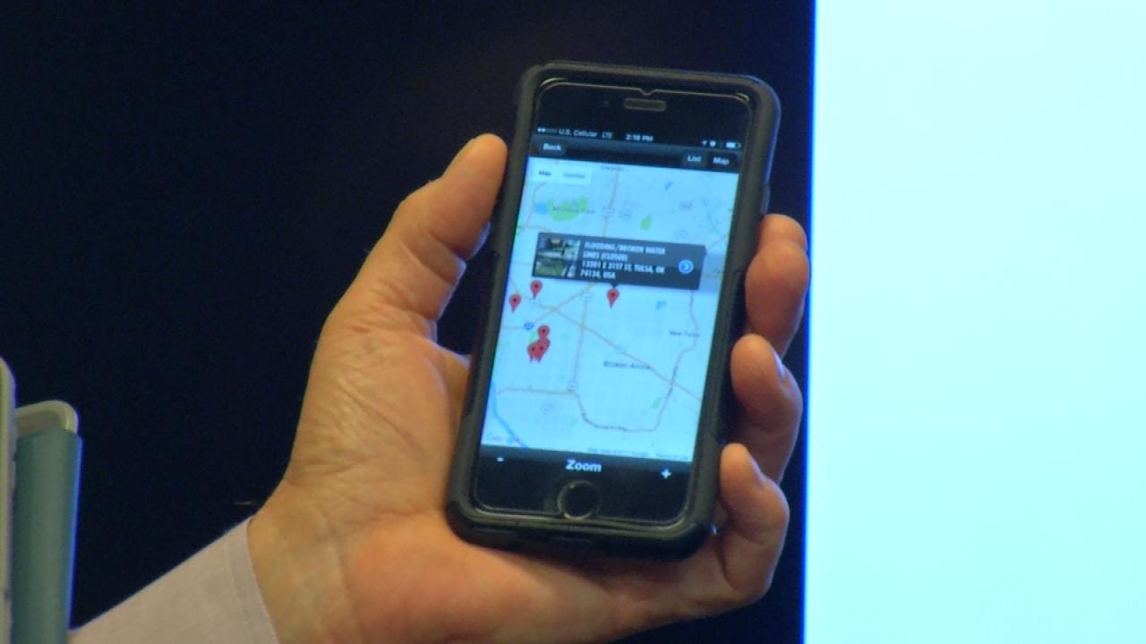 City's Mobile App Allows Tulsans To Report Complaints
