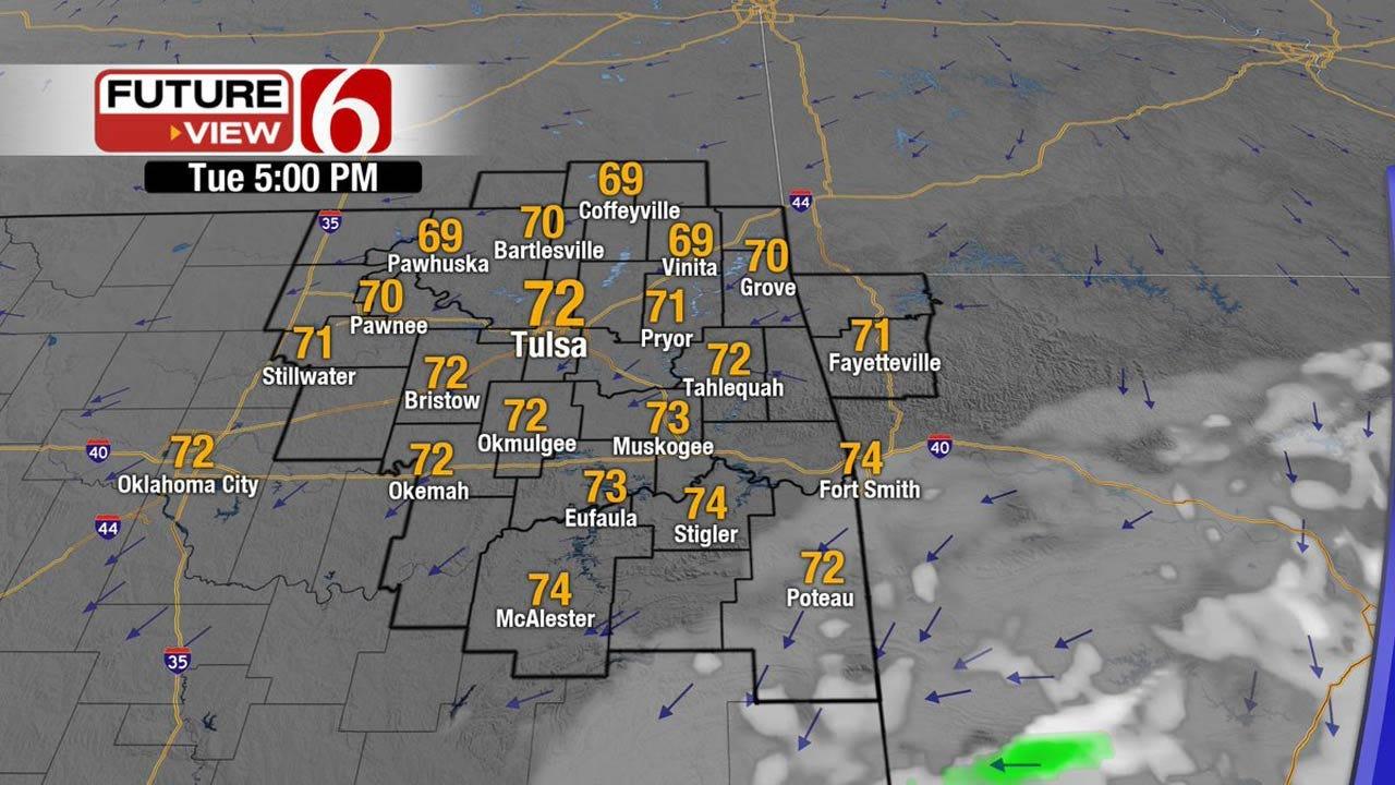 Pleasant Forecast For Eastern Oklahoma
