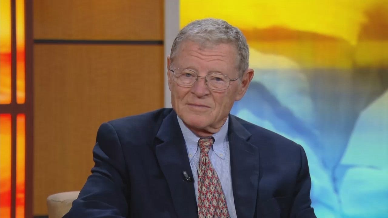 WATCH NOW: Senator Jim Inhofe Gives His Insight Into World Affairs