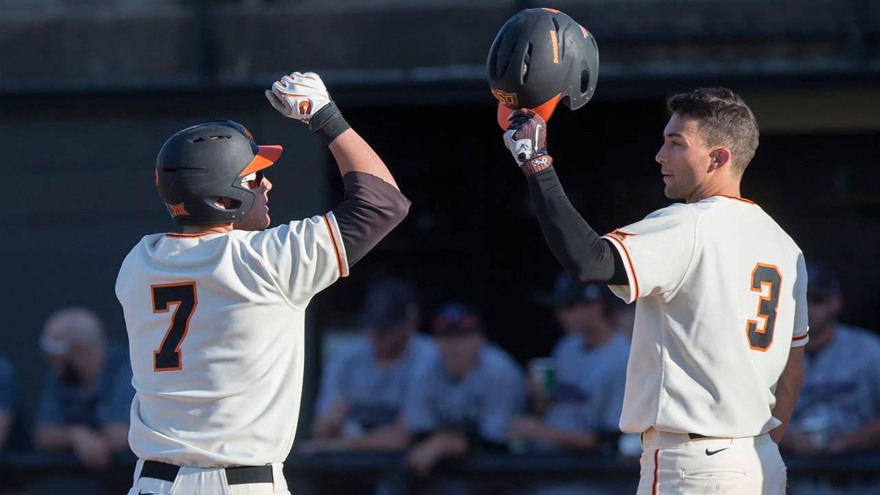 Cowboy Baseball Travels To Kansas For Big 12 Series