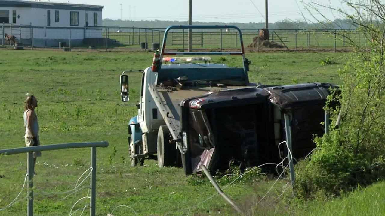 High-Speed Okmulgee Chase Ends With Wreck