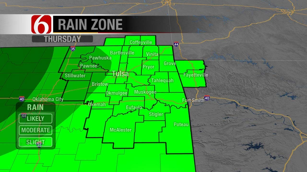 Tracking Several Storms Systems Headed To Oklahoma