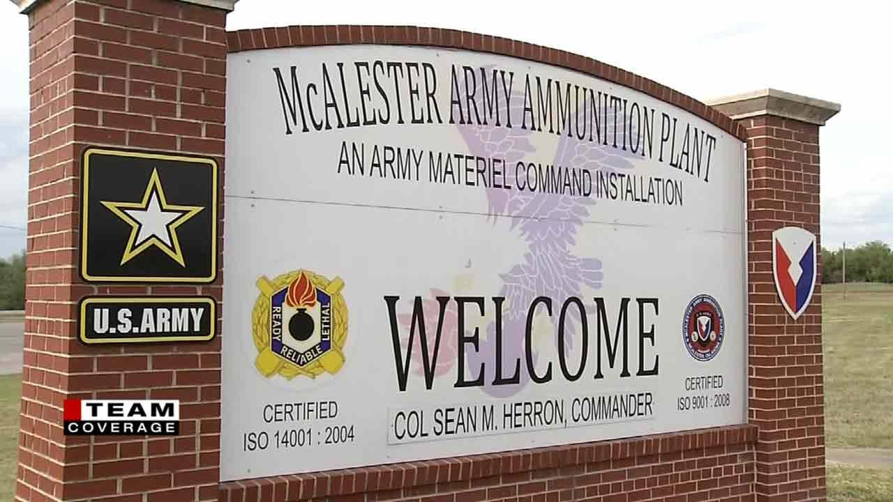 McAlester Army Ammunition Plant Has History Of Making MOABs