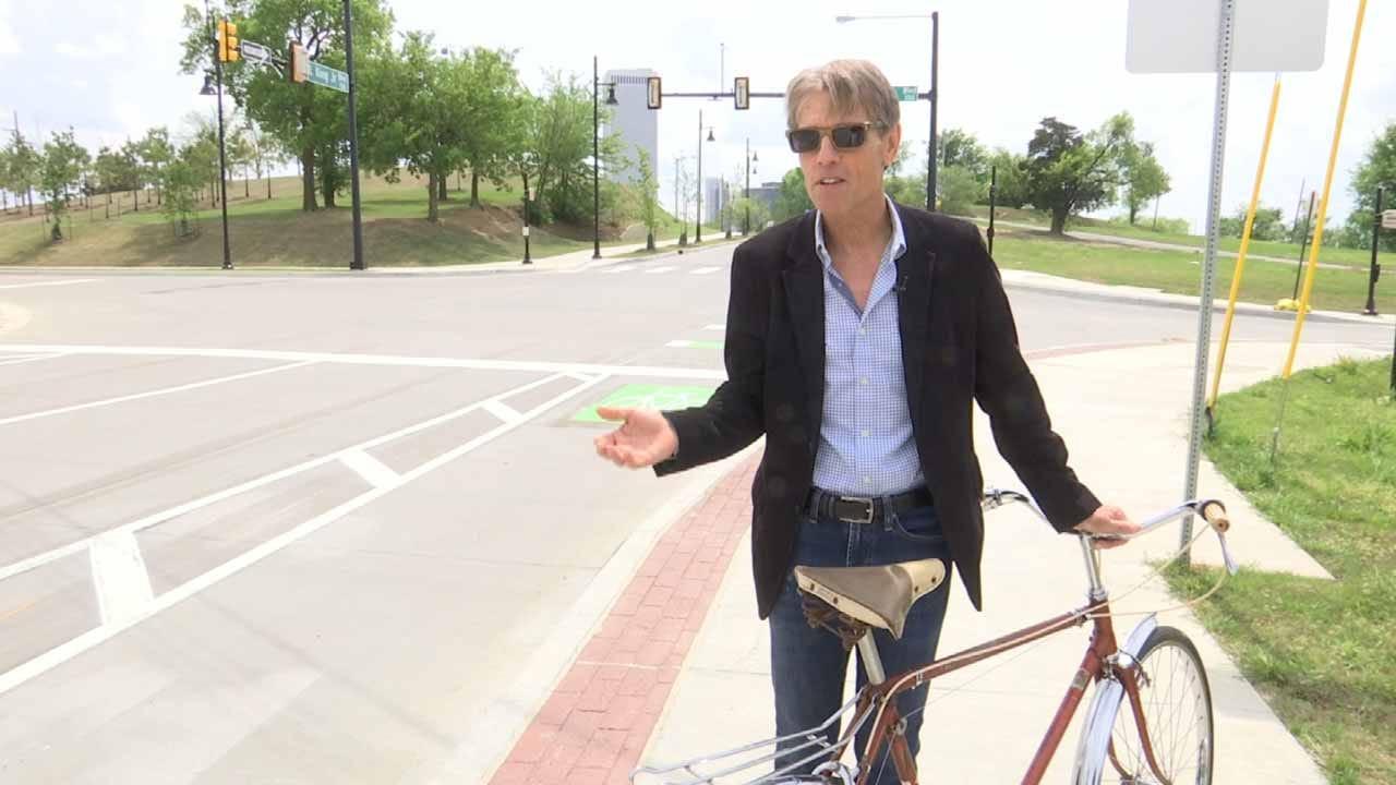 New Bike Lanes Open In Brady District