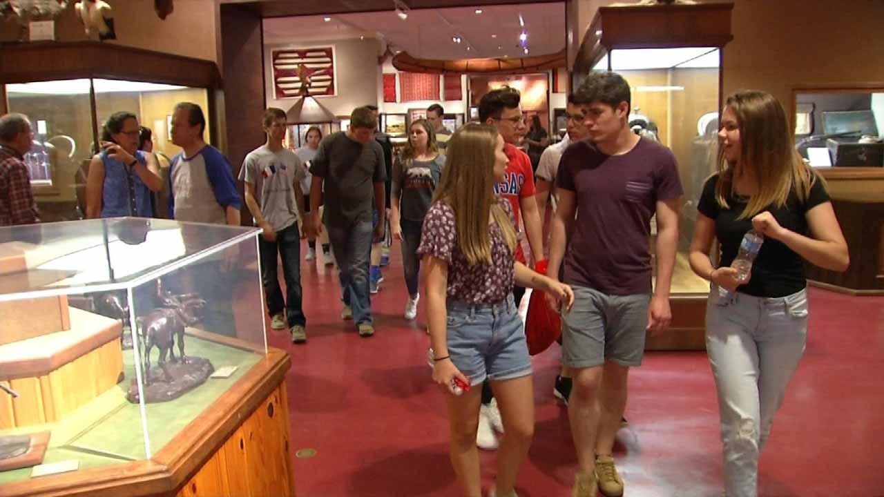 Program Brings Together Students From Kansas, France