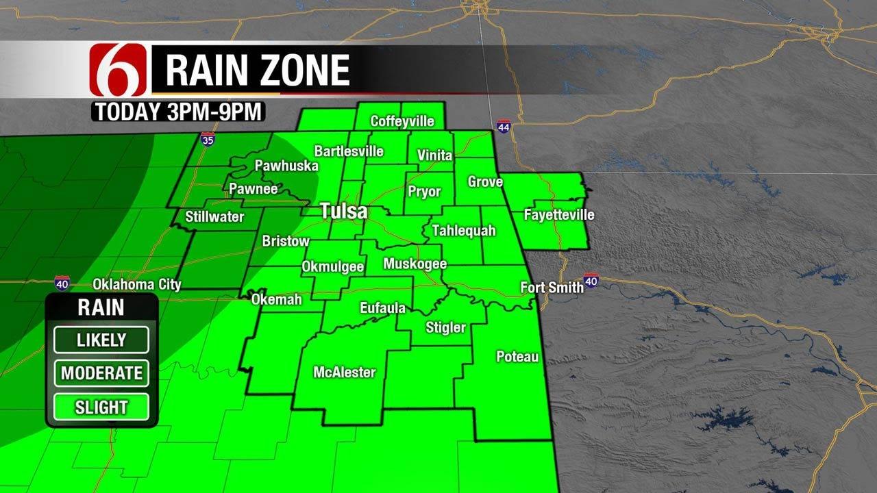 Storm System Set To Move Into Oklahoma