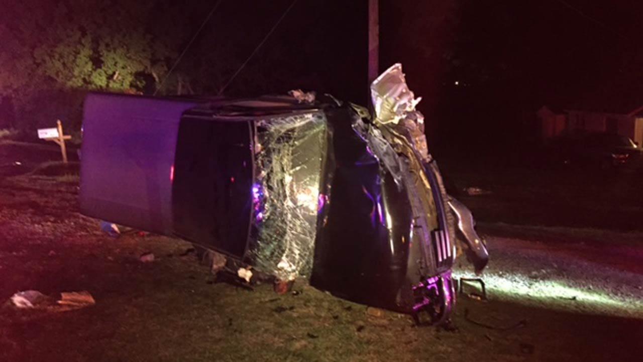 Tulsa Officer Injured In Crash Involving Suspected DUI Driver