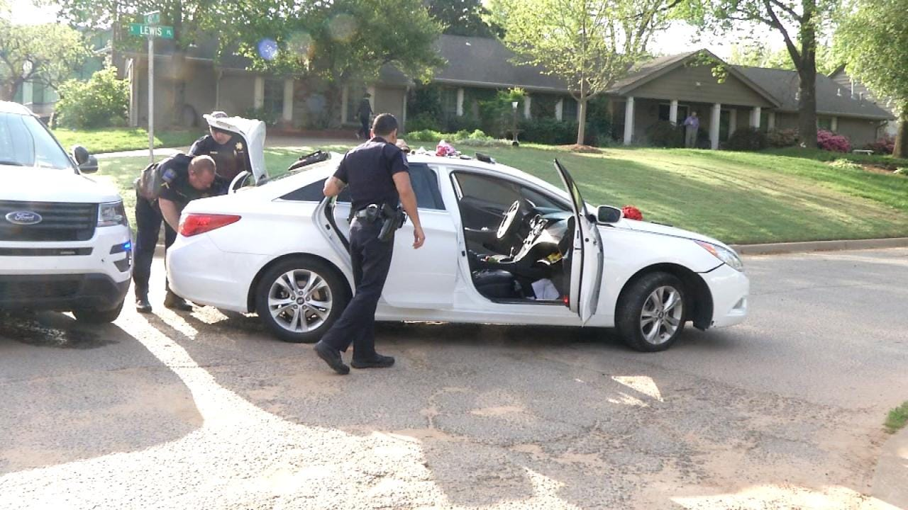 Two Suspects In Custody After Tulsa Police Chase, Foot Pursuit
