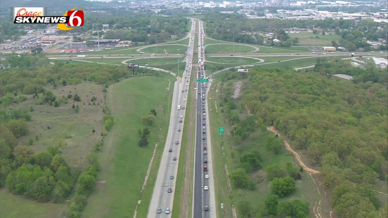 Lane Closures To Be Extended For Tulsa Highway 75 Repaving Project