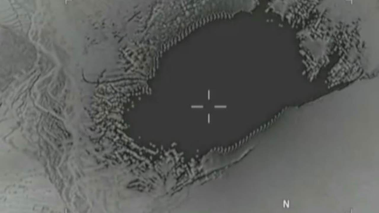 Pentagon Releases Video Of 'Mother Of All Bombs' Attack In Afghanistan