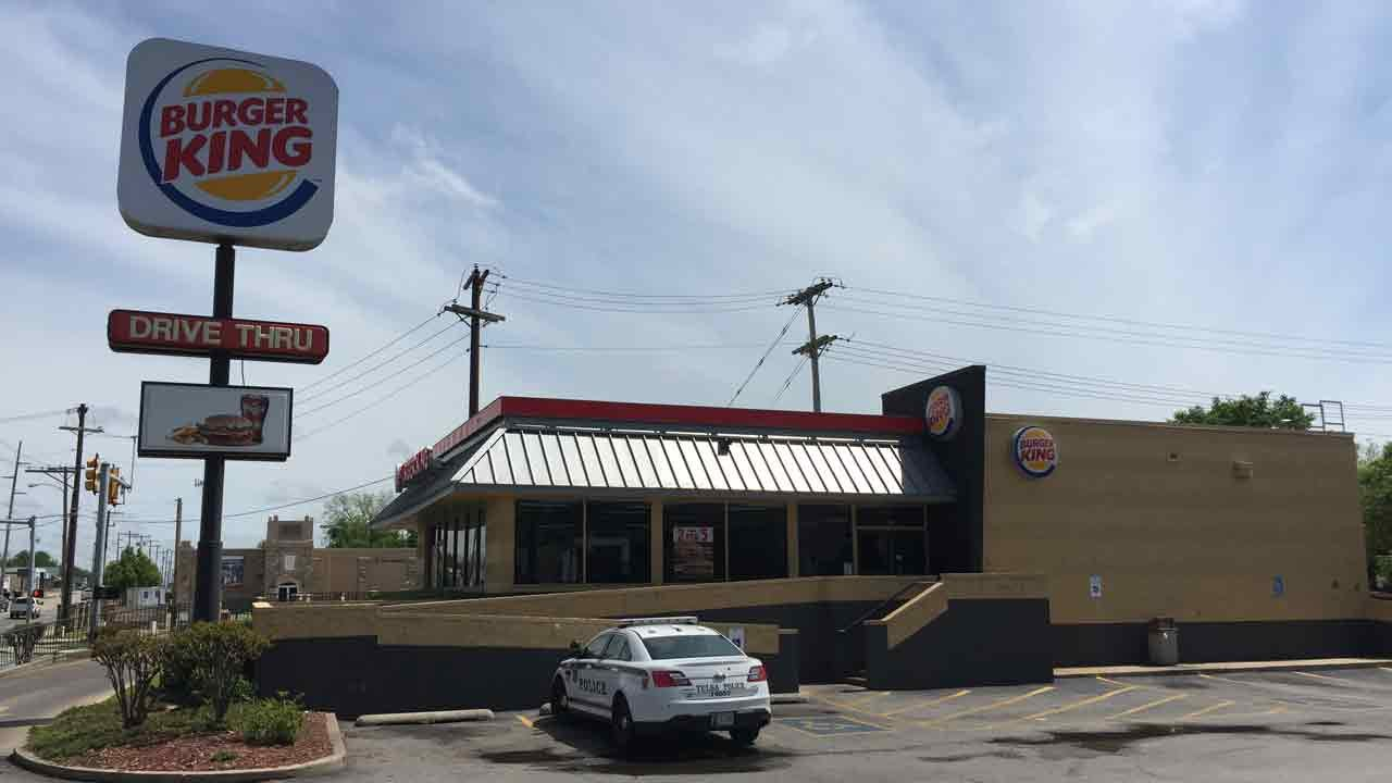 Armed Man Robs Tulsa Burger King