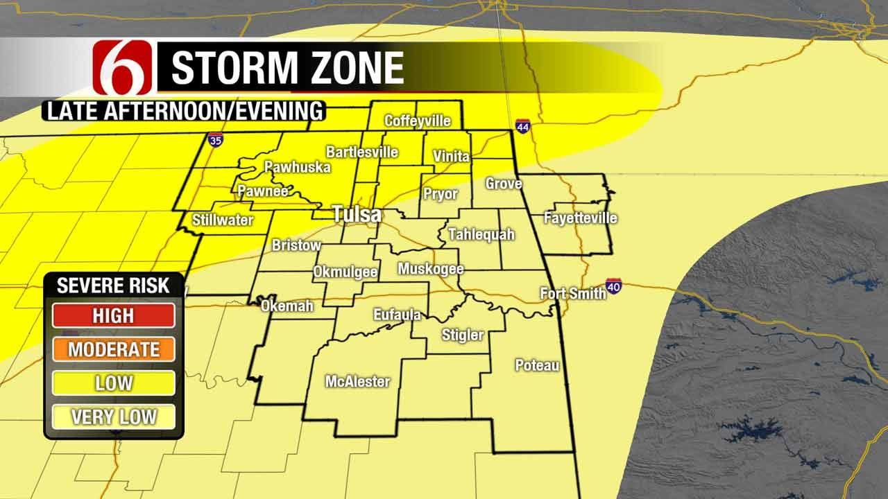 Easter Storms Rumble Through Eastern Oklahoma