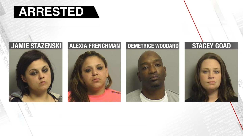 Four Arrested For Drug Trafficking In Tulsa