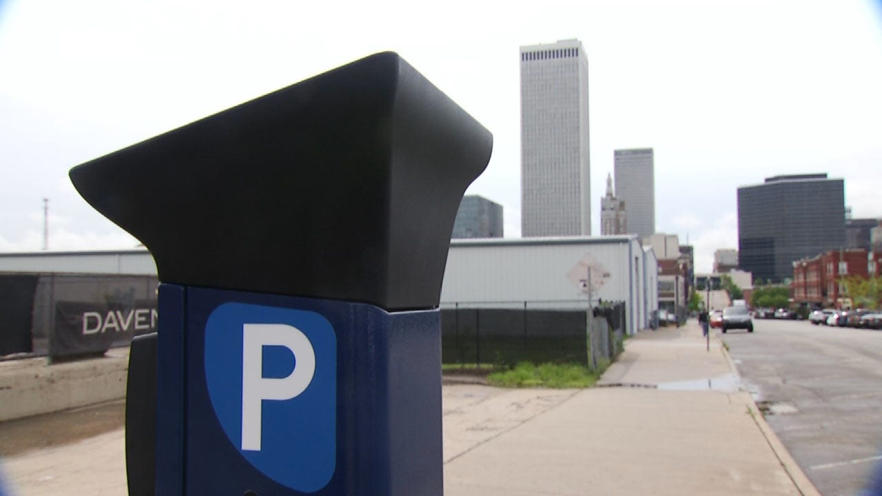 Tulsa's Brady District Getting New Multi-Space Parking Meters