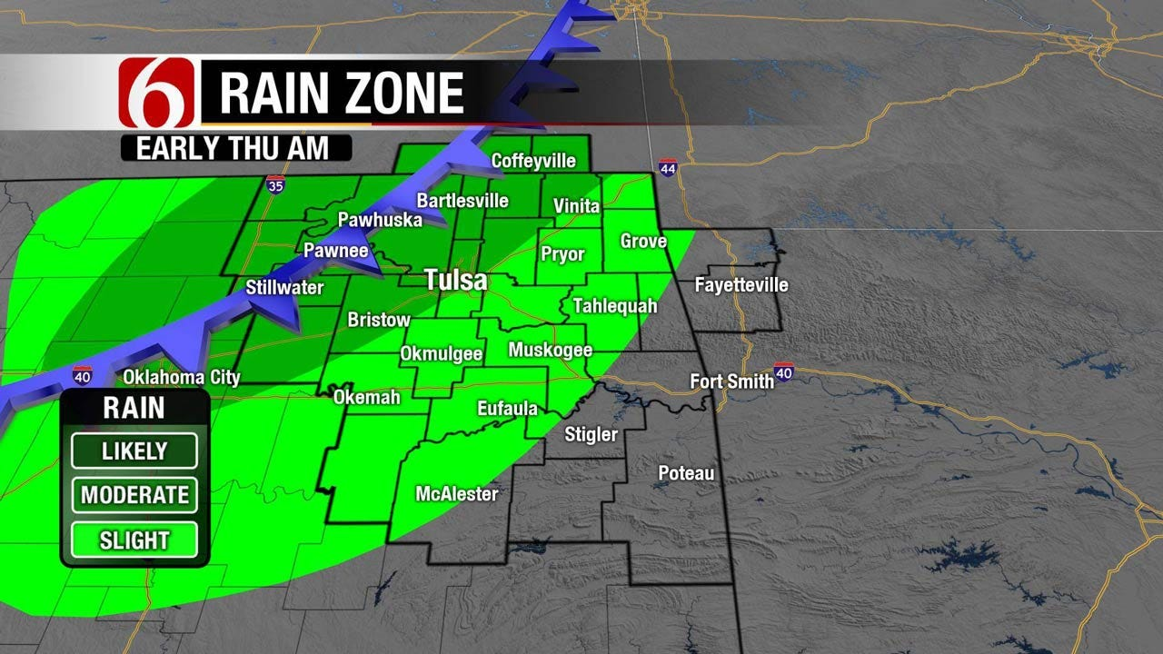 Dense Fog Advisory For Northeast Oklahoma