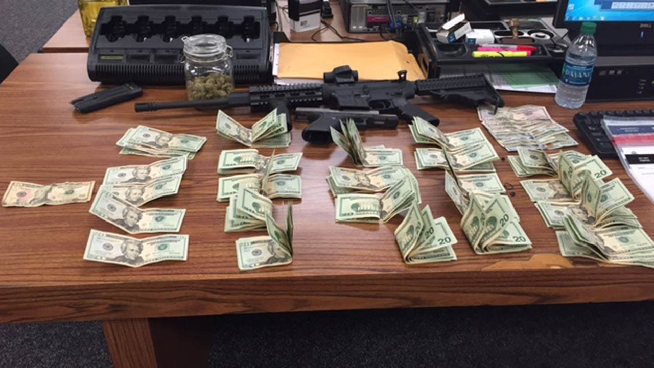 Law Enforcement Makes Large Drug Bust At East Tulsa Home