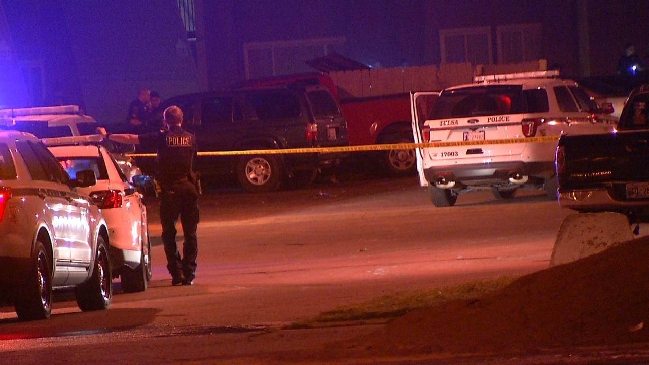 Man Found Shot At Tulsa Apartment Complex