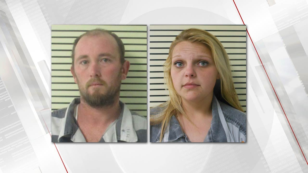 Meth Under Hood Of Pickup Leads To Arrest Of Okay Couple