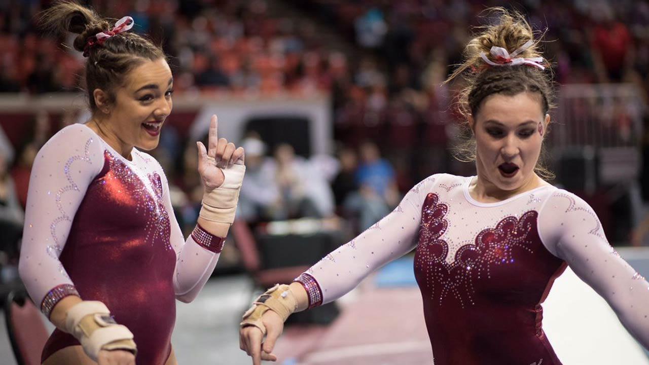 OU Gymnastics: Capps, Nichols Named Finalists For Honda Sport Award