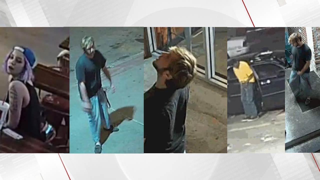 Tulsa Hurts Donut Worker Posts Surveillance Photos Of Suspect Thieves