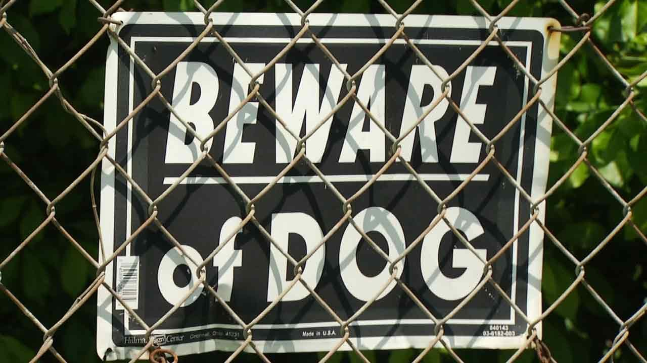 Tulsa Neighborhoods Complain Nothing Being Done About Aggressive Dogs