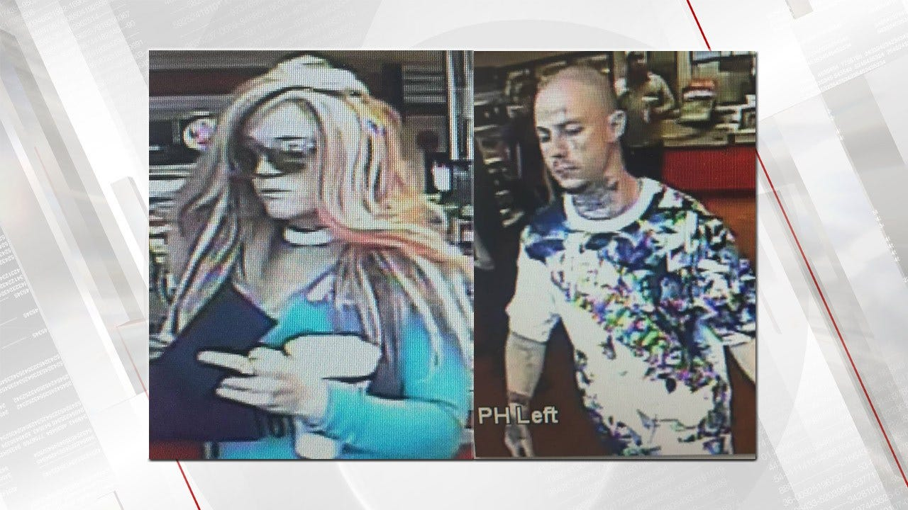 Tulsa Police Release Photos Of People Of Interest
