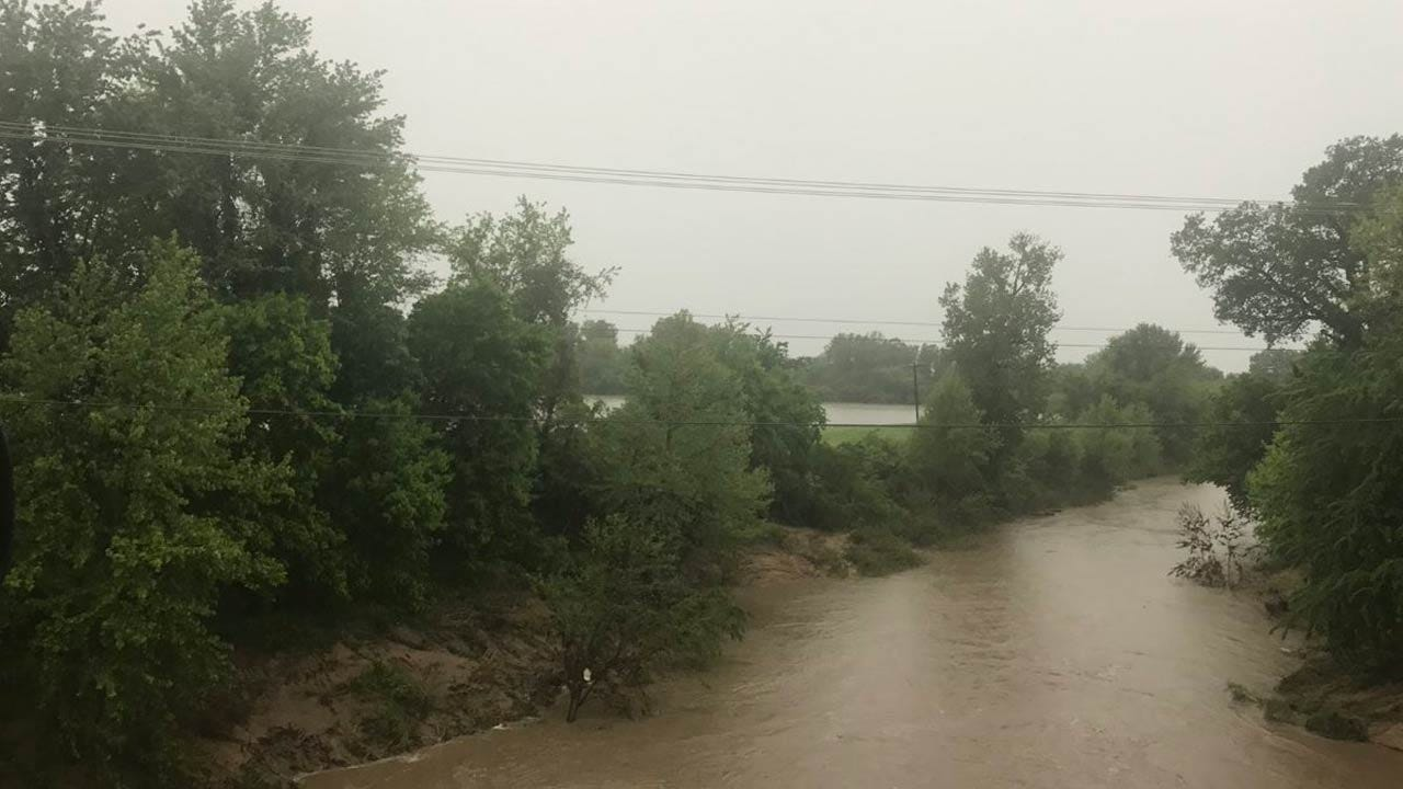 Flood Warning Issued For Bird Creek South Of Skiatook