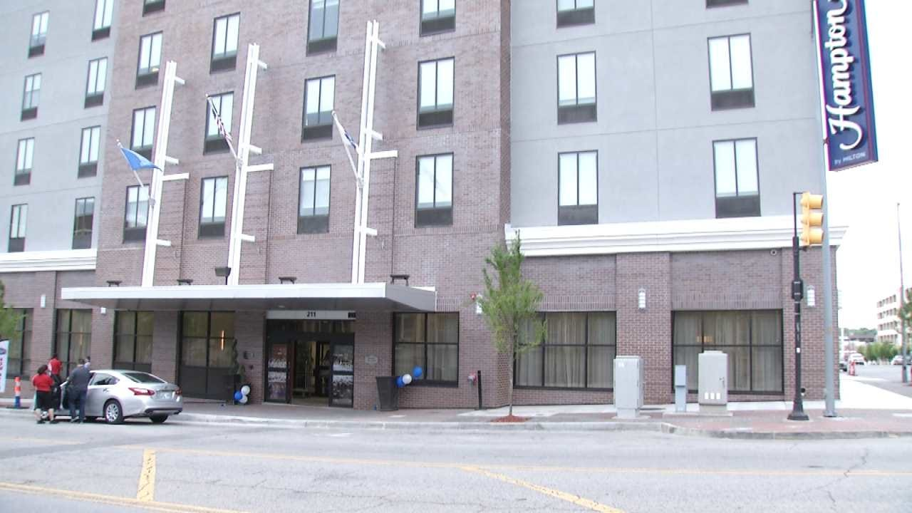 New High Rise Hotel Opens In Tulsa