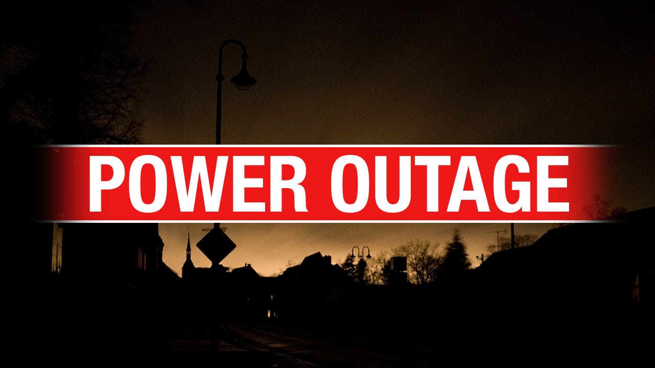 Several Green Country Power Outages Reported