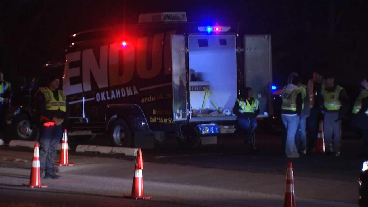Tulsa Police Arrest 13 In Sobriety Checkpoint