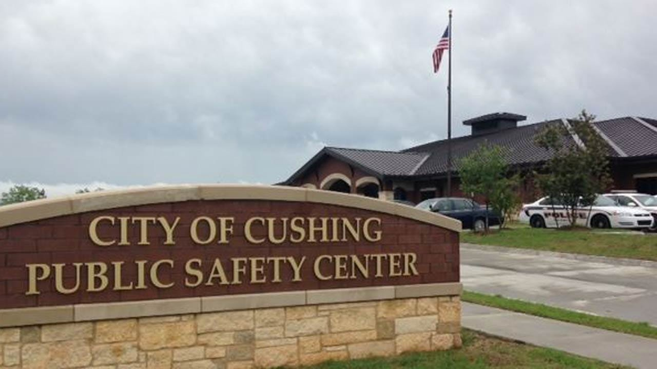 Cushing Emergency Services Train At High School