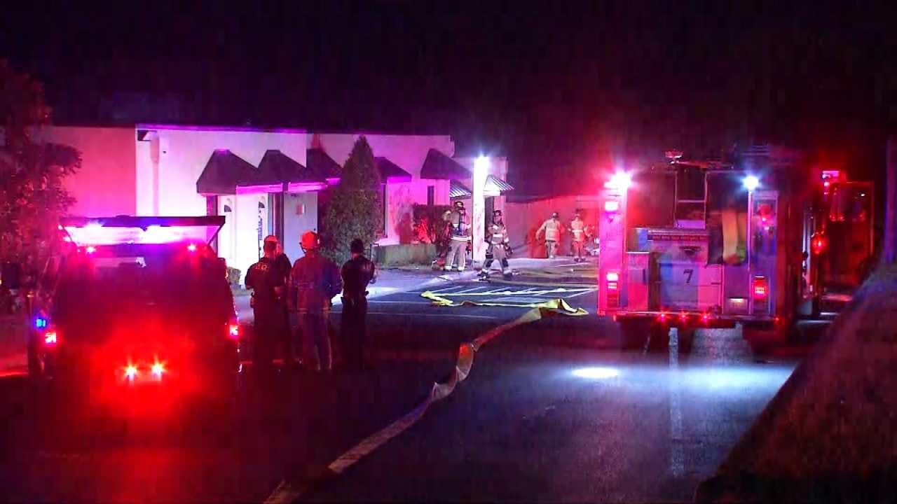 Vandalism, Arson Investigated At Tulsa Chiropractic Business