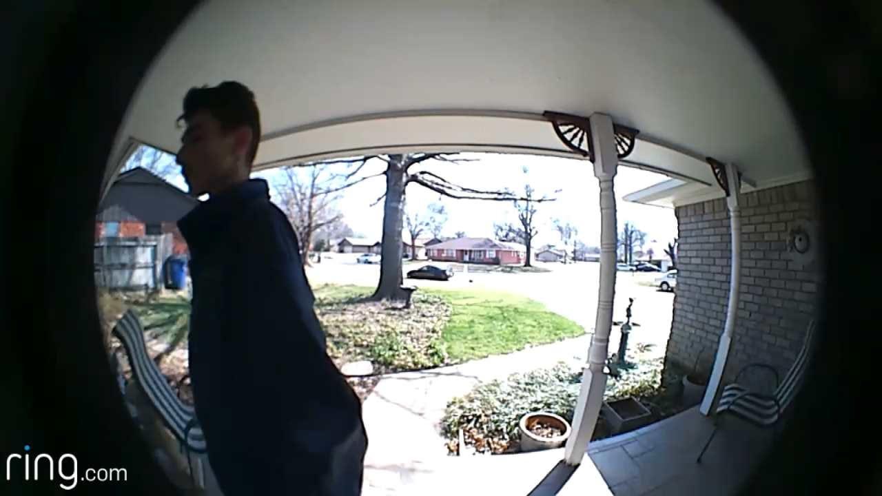 Police: Tulsa Burglary Suspect Caught On Video