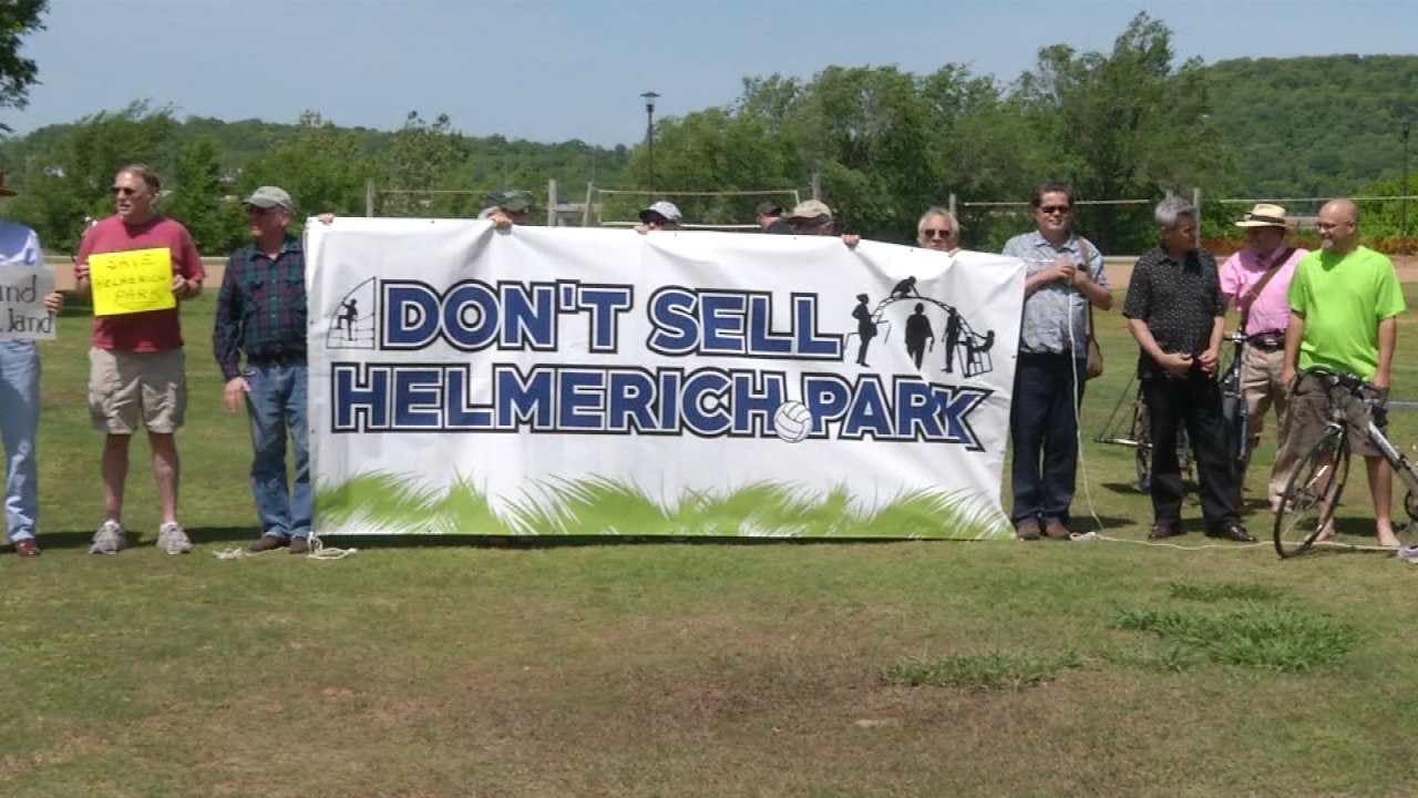 Protesters Push Back Against Sale Of Tulsa Helmerich Park