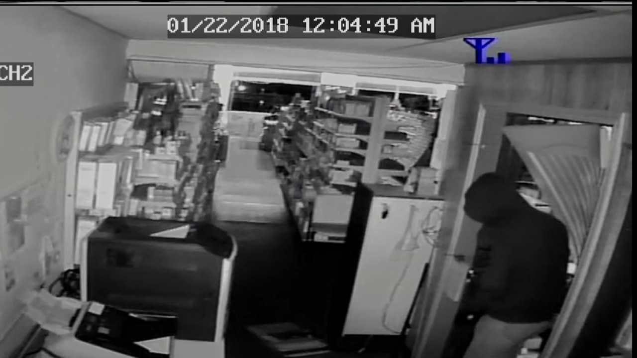 Pawnee Pharmacy Burglar Sought