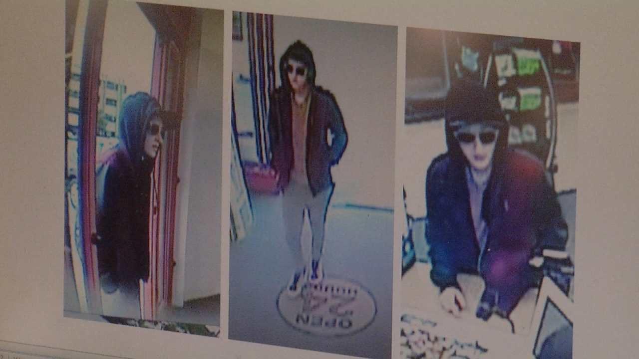 Police Seek Tulsa CVS Pharmacy Robbery Suspect
