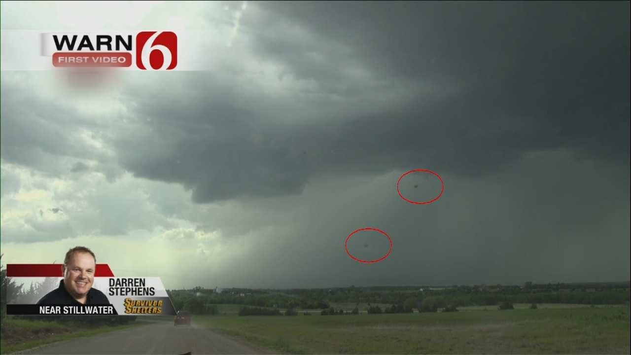 Video Of Mysterious 'Blobs' By News On 6 Storm Tracker A Hit On Social Media
