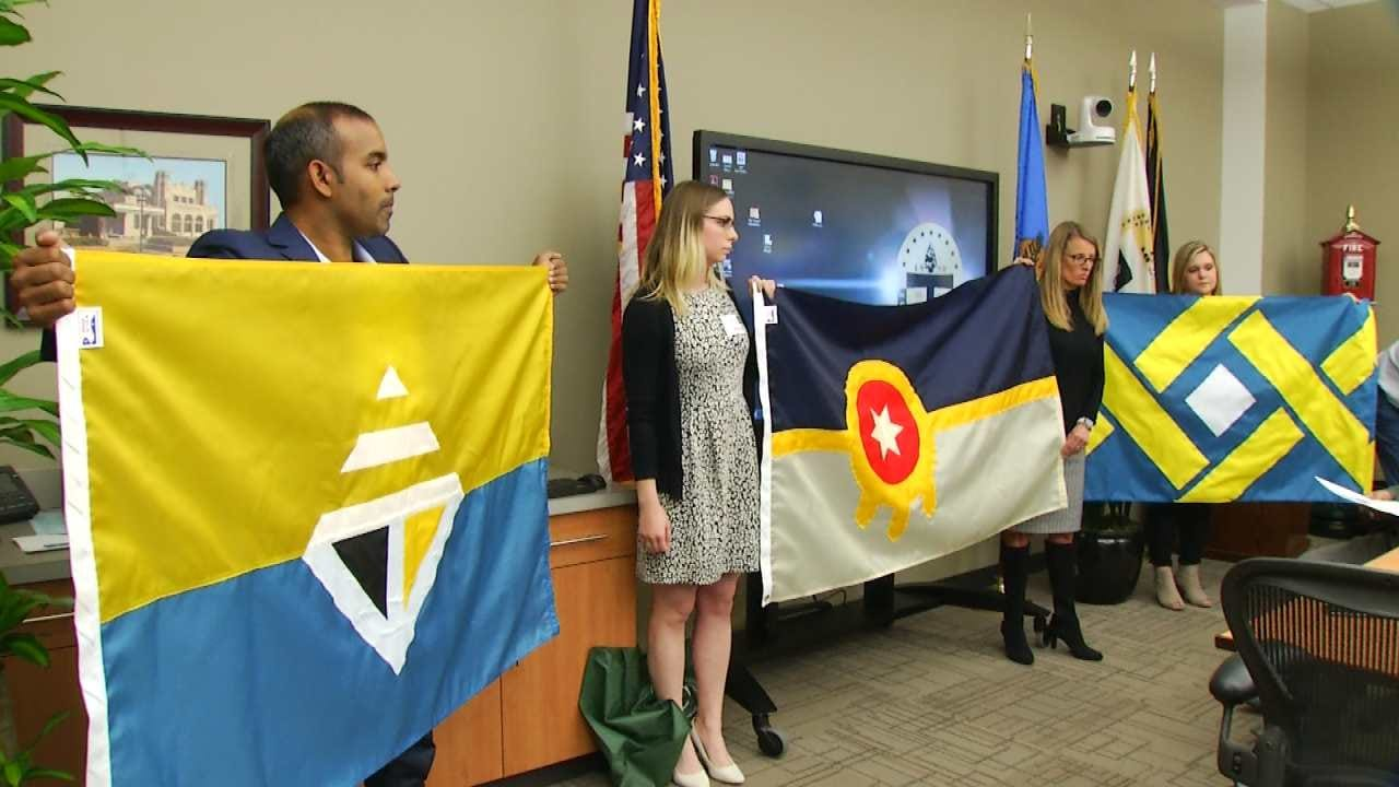 Voting Underway For New City Of Tulsa Flag