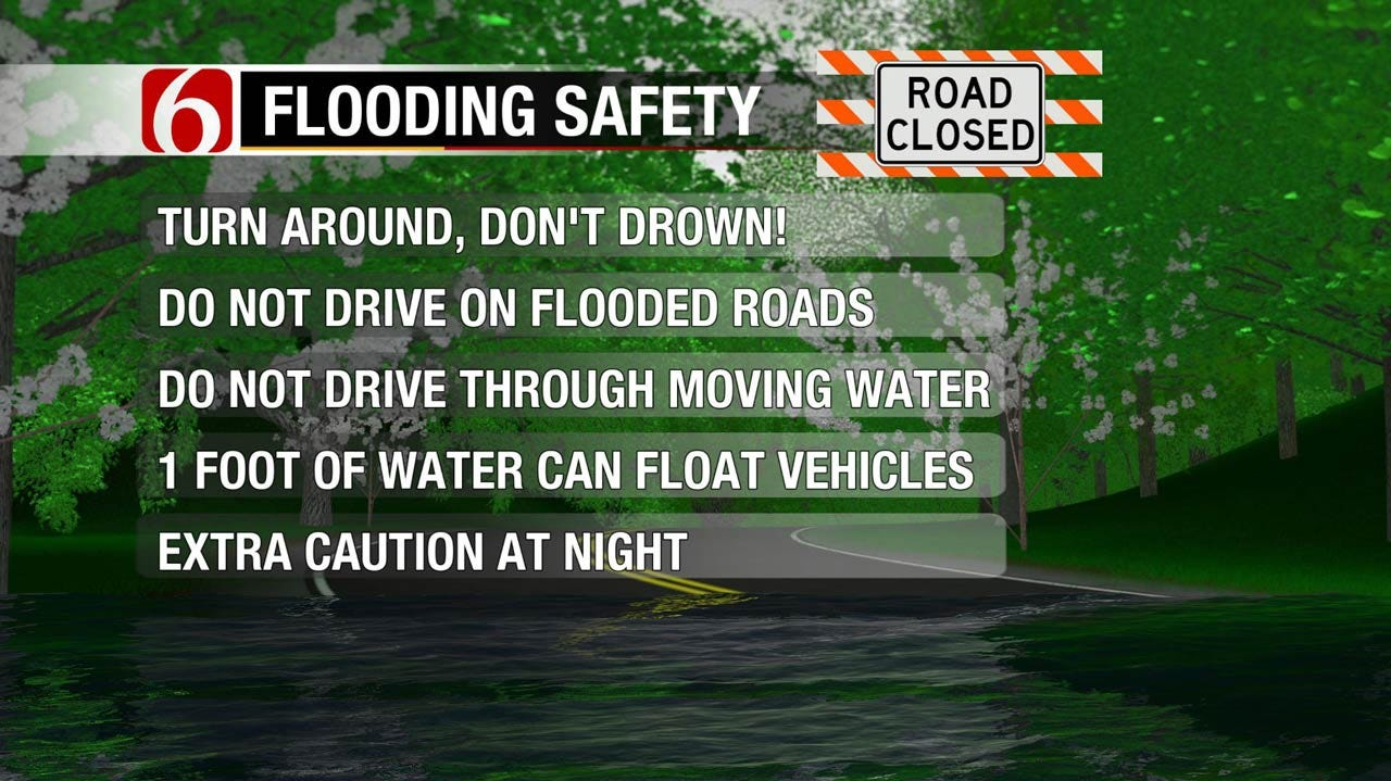 Dangerous Flooding Possible Across Green Country