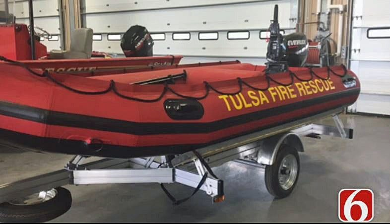 Tulsa Fire Department Receives New Rescue Boats