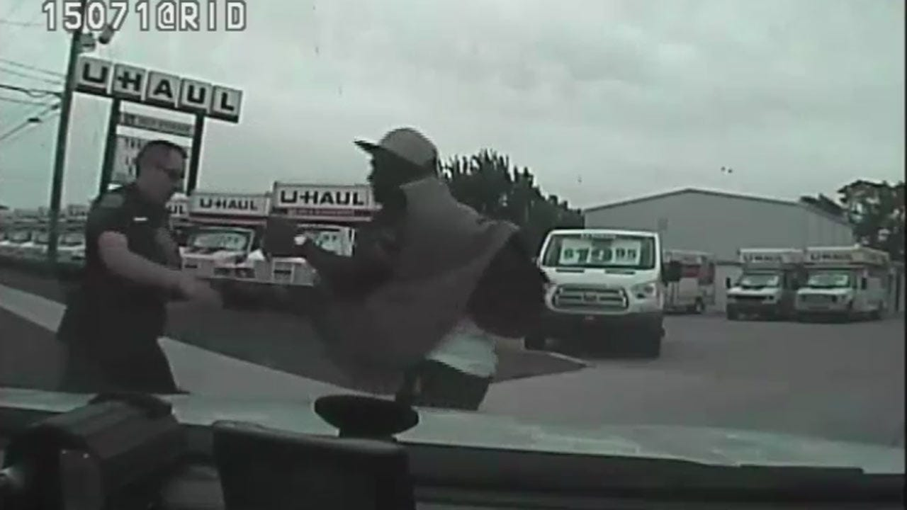 Tulsa Police Release Dashcam Video Of Officer-Involved Shooting