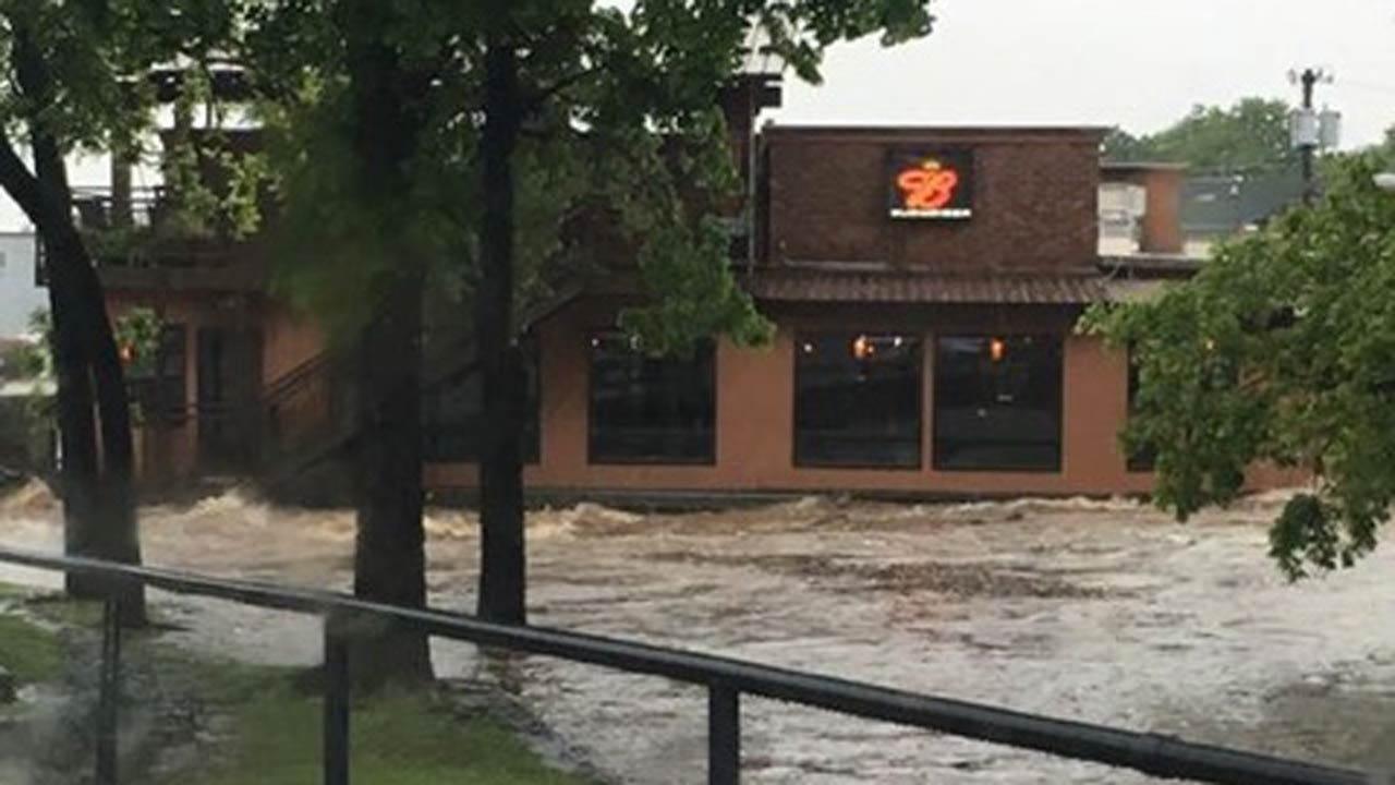 Evacuations, Water Rescues Underway In Cherokee County